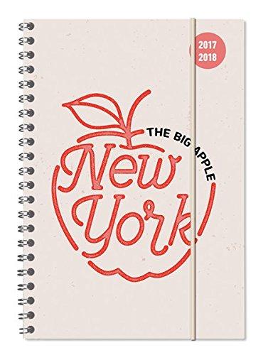 """Diario agenda scuola collegetimer """"New York"""" 2017/2018 - Spiralata - Settimanale - 224 pagine - 15x21 cm"""