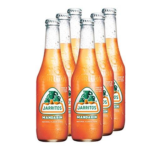 JARRITOS Mandarine Limonade, 6er Pack, EINWEG (6 x 370 ml)
