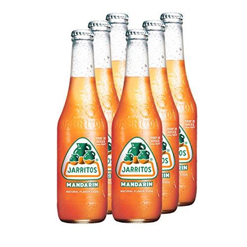 JARRITOS Mandarine Limonade, 6er Pack, EINWEG (6 x 370 ml)