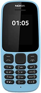Nokia 105, Series 30, Fm Radio, 10 Inch - Blue