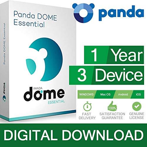 Panda AntiVirus PRO / Dome Essential 3 PC 2020 3 dispositivi 1 Licenza ESD (Electronic Software...