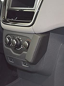 Kuda 038035 Halterung Kunstleder Schwarz Für Dacia Elektronik