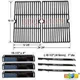 bbq factory Replacement BBQ Grillware GGPL-2100 Grill Burners, Heat Plates, Grill Grates