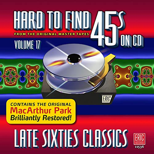 Price comparison product image Hard To Find 45s On CD,  Volume 17 - Late Sixties Classics