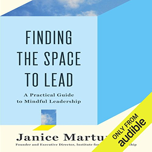 Finding the Space to Lead audiobook cover art