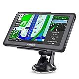 AWESAFE GPS Voiture 7'Écran Tactile avec Fonction Bluetooth, pré-installé avec Les Cartes de 52 Pays européens