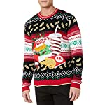 Blizzard Bay Men's Ugly Christmas Sweater Food 7 Festive and humorous patterns that are perfect for the holiday season Made with a soft knit for a comfortable and easy fit