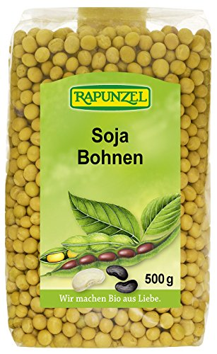 Rapunzel Sojabohnen aus Deutschland (500 g) - Bio