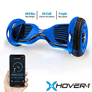 """Hover-1 Titan Electric Self-Balancing Hoverboard Scooter with 10"""" Tires, Gun Metal (B07FB2RYLY) 