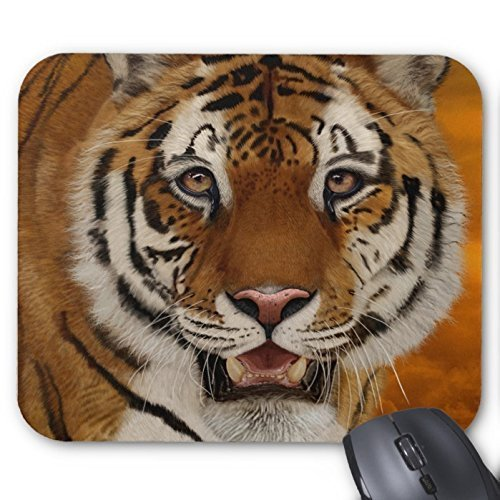 Goobull Un' immagine Full Face Tiger mouse pad personalizzato mouse pad Tiger Mousepad antiscivolo tappetini per il mouse