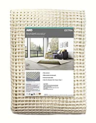 Excellent level of grip however NOT SUITABLE FOR USE ON TOP OF CARPETS Machine washable (40 degrees) for easy cleaning and to restore functionality Protects rugs, allows air to circulate & enhances comfort underfoot Infinitely reusable, move the rug ...