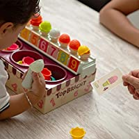 TOP BRIGHT Set Gelato Giocattolo – Gioco Gelateria – Gioco Educativo di Matematica e Sviluppo Abilità Cognitive con Cibo Finto per Bambini #6