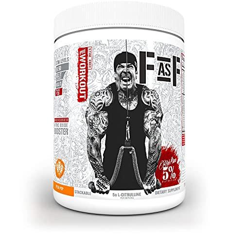 Rich Piana 5% Nutrition FasF Overdosed Nitric...