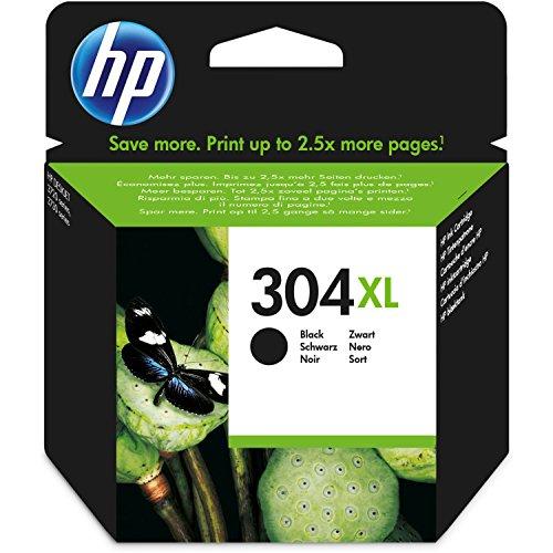 Negro XL HP Cartucho de Tinta–para impresoras HP Deskjet 3730–Original Cartucho de Tinta