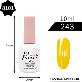 Rocci Nails UV Led Gel Nail Polish (Yellow)