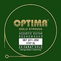 オプティマ(OPTIMA) アコースティックギター弦 24Kゴールド 1747.CL