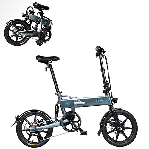 Plegable Bicicleta Eléctrica para Los Adultos, Conmutar E-Bici con Motor De 250W...