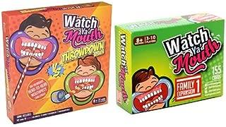 Watch Ya' Mouth Throwdown Edition Card Game, Family Bundle