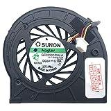 Enfriador de ventilador compatible con Lenovo ThinkPad X200s (7470), X201i (NUS1ZGE), X201 (3249-2CU), X201 (3680-F7U), X201 (3249-2EU), X201 (3626-F9U), X201 (3249-2FU), X201 (3626-FAU), X201 (3249-2GU), X36201 (3626-FAU) -HVU), X201 (3249-2TU), X201 (3626-12U), X201 (3249-2UU)