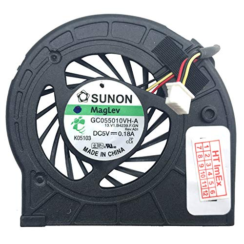 Fan Fan Cooler Compatible with Lenovo ThinkPad X201 (3144), X201 (3093-94U), X201 (3239), X201 (3093-95U), X201i (2985), X201i (2985-FSU), X200 (7449), X200 (7455), X200 (7458), X200 (7466), X200s (7459), X200 (7459), X200s (7459), X200 (NR235), X200s (7455), X200s (7455), X200 (7455), X200s (7455), X200s (7455), X200 (7455), X200 (7459), X200 (7459), X200s (7455), X200 (7455), X200s (7459), X200s (7455), X200 (7455), X200 (7