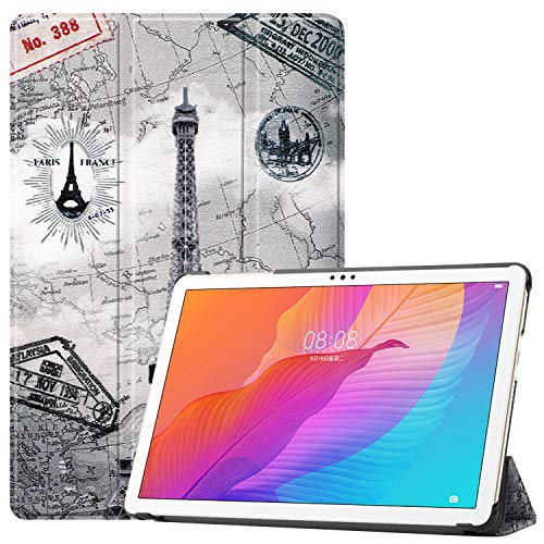 Lobwerk Case fur Huawei Honor Tablet 6MatePad T10T10S 101 Zoll Schutzhulle Tasche mit Standfunktion und Auto SleepWake Funktion