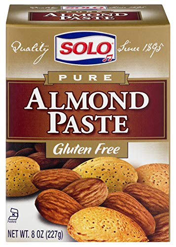 Solo Almond Paste, 8-Ounce Packages (Pack of 6)