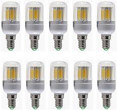 SGJFZD E14 5W LED Light Bulb 5 Pack 3000K/6000K 40W Incandescent Bulb Equivalent 400LM COB Light Not Dimmable AC220V (Colo...