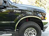TFP 3112VT Fender Trim - Compatible with Ford Super Duty F250/F350/99-07 2/4Dr w/o flare