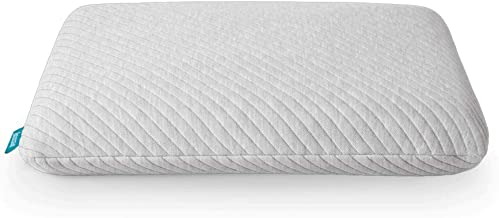 product image for Leesa Standard Size Cooling Foam Pillow for Sleeping Gray, Grey