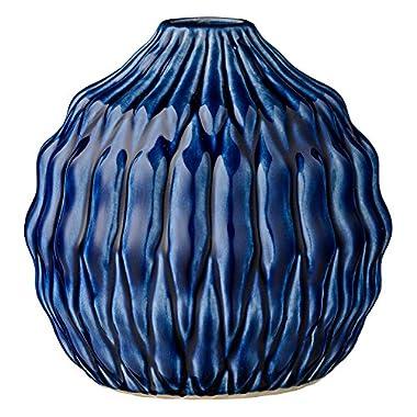 Stout Navy Ceramic Vase