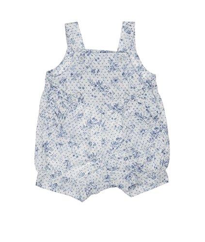 Steiff Baby-Mädchen Latzshorts Latzhosen, Mehrfarbig (Allover 0003), (Herstellergröße: 68)