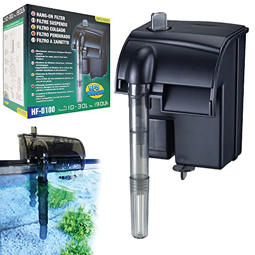 BPS Filtro Profesional Acuario Filtro Externo de Mochila para Pecera Ahorro de Energía 8.5 * 8*...