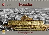 Ecuador 2022 Zwischen Hochland und Kueste (Wandkalender 2022 DIN A2 quer): Ecuador - kleines Land mit vielen Facetten (Monatskalender, 14 Seiten )
