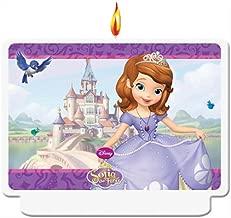 Disney Junior Sofia The First Birthday Candle