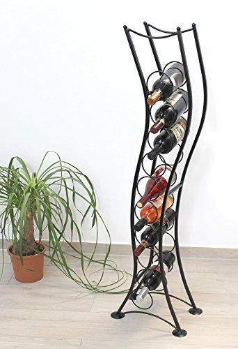 DanDiBo Weinregal ST099 Flaschenständer 120 cm Flaschenhalter Flaschenregal aus Metall