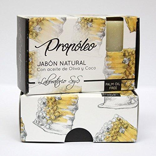 Laboratorio SyS Jabón Natural Premium Propoleo - 6 Paquetes de 1 x 100 gr - Total: 600 gr