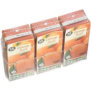 Morrisons Orange Juice, 3 x 200ml:Elektrikmalzemeleri