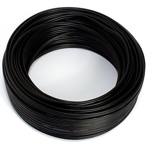 Luidsprekerkabel 2x0,50mm2 - audiokabel - boxkabel 0,50mm2-25m zwart