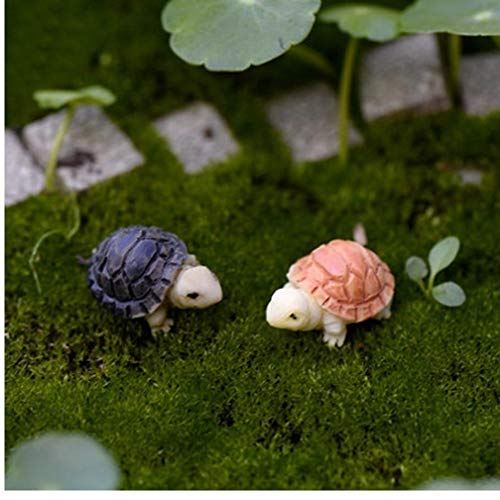 PiniceCore 10pcs Precio de fábrica de muñecas en Miniatura Bonsai Hada del Paisaje del jardín de la Tortuga Modelo Decoración Fuentes de DIY Decoración de la muñeca