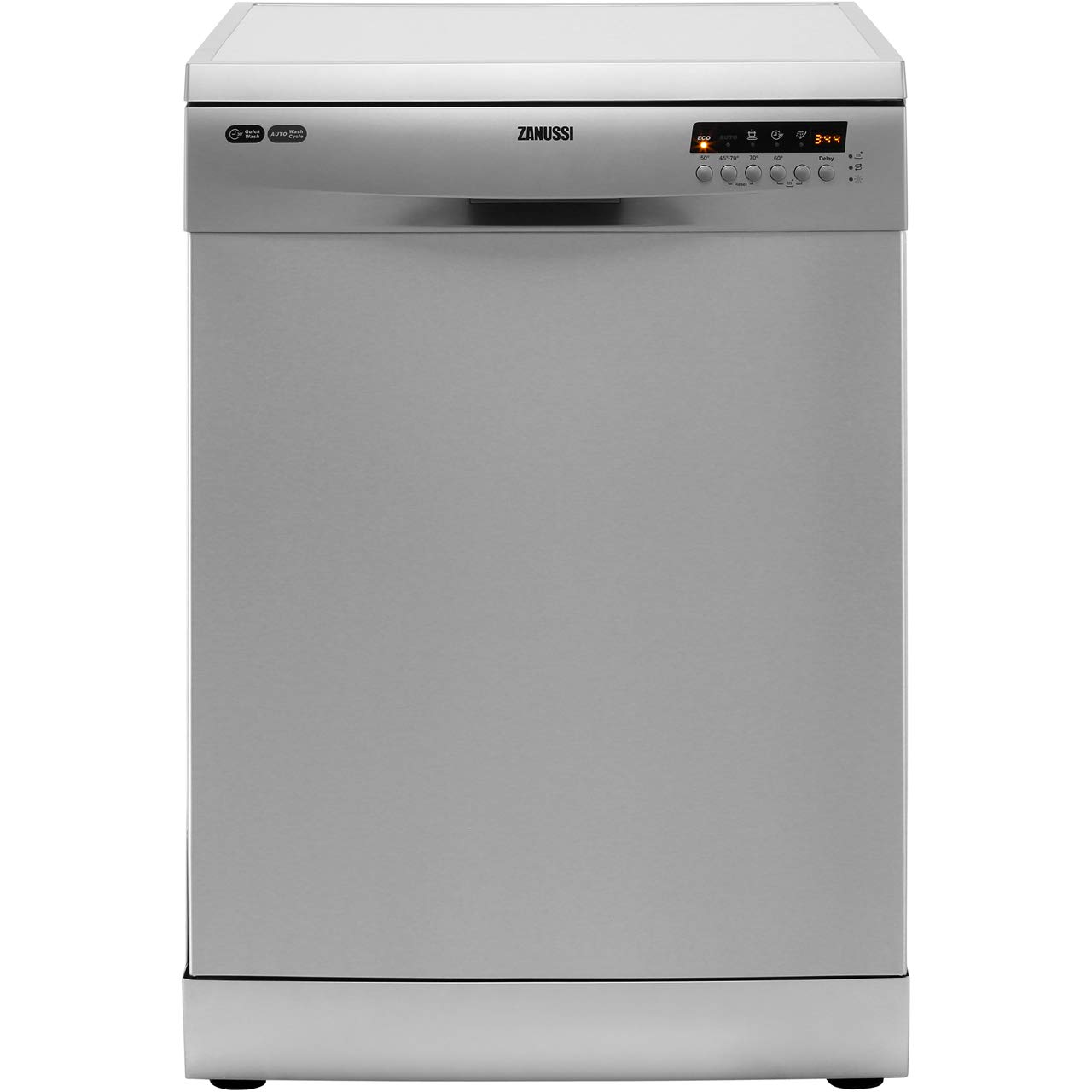 Zanussi Zdf26004xa Freestanding Dishwasher With Airdry Technology 13 Place Settings 5 Programmes Stainless Steel Amazon Co Uk Large Appliances