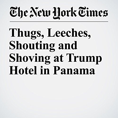 Thugs, Leeches, Shouting and Shoving at Trump Hotel in Panama audiobook cover art