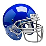 Schutt Sports Youth AiR XP Hybrid Football Helmet Without Faceguard, Medium, Royal Blue