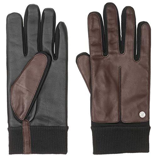Roeckl Smartphone Handschuhe Sheepskin Touch-Handschuh Fingerhandschuh (10 HS - dunkelbraun)