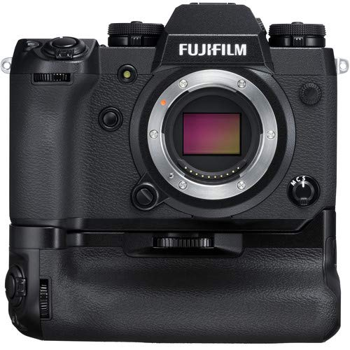 FUJIFILM X-H1 Mirrorless Digital Camera Body with Battery Grip Kit 24.3MP - Kit with Carrying Case