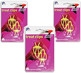 6 Pack of Prevue Pet Treat Clips (3 Packages with 2 Clips Each)
