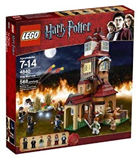 LEGO Harry Potter The Burrows 4840 (Renewed)