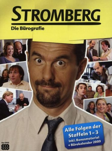 Stromberg - Die Bürographie ltd. Edition (Staffel 1-3) (6 DVDs inkl. Stromberg-PC-Game)