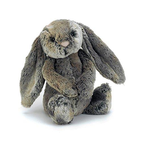 Jellycat Bashful Woodland Bunny Stuffed Animal, Medium, 12 inches