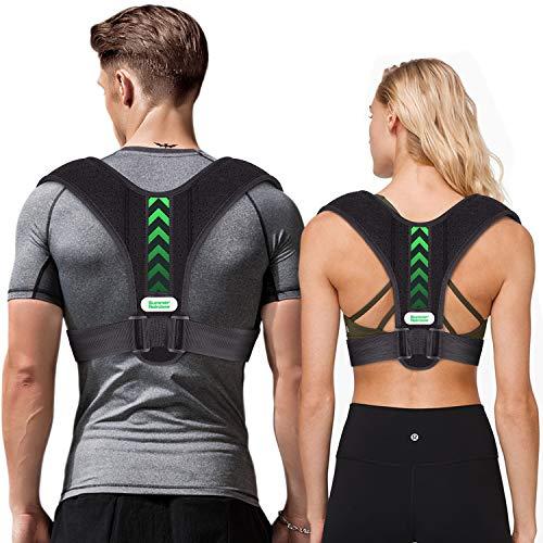 summer rainbow Posture Corrector for Men and Women,Upper Back Straightener...