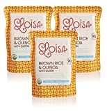 Loisa Organic Brown Rice & Quinoa with Sazon (Ready to Heat), Non-GMO, Gluten-Free, Vegan,...